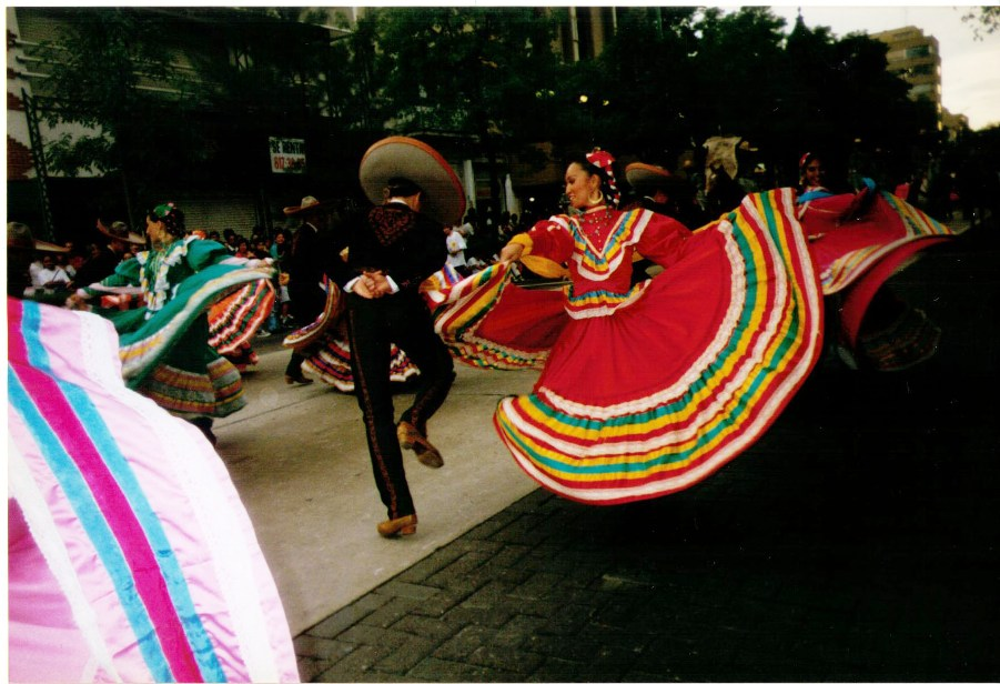 Mexican Dancers in Guadalajara